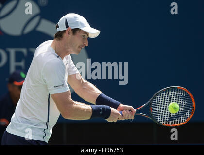 Andy Murray (GBR) at the US Open 2016 Championships in Flushing Meadows,New York,USA. - Stock Photo