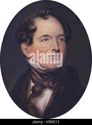 THOMAS MOORE(1779-1852) Irish poet and song writer - Stock Photo