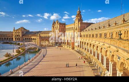 Plaza de Espana - Seville, Andalusia, Spain