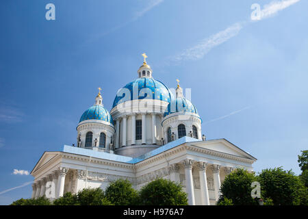 Trinity Cathedral. St. Petersburg. Russia - Stock Photo