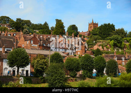 Brigdnorth Town a city with history! - Stock Photo