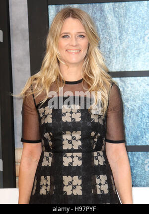Sep 20, 2016 - Edith Bowman attending 'The Girl On The Train' - World Premiere at Odeon Leicester Square in London, - Stock Photo