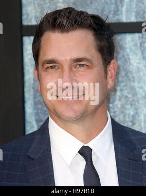 Sep 20, 2016 - Tate Taylor attending 'The Girl On The Train' - World Premiere at Odeon Leicester Square in London, - Stock Photo