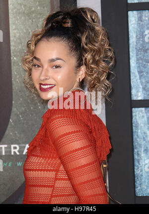 Sep 20, 2016 - Ella Eyre attending 'The Girl On The Train' - World Premiere at Odeon Leicester Square in London, - Stock Photo