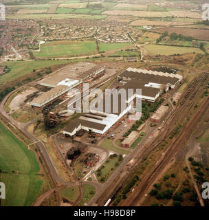 Aldwarke Steelworks Rotherham South Yorkshire - Stock Photo