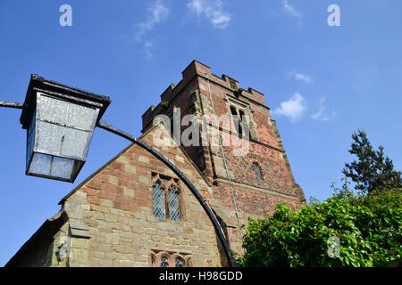 St Leonard's Church at Wychnor in Staffordshire - Stock Photo