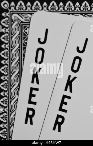 joker, cards, poker - Stock Photo
