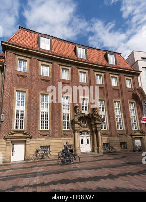 The  Pablo Picasso museum building in Munster, Germany, Europe - Stock Photo