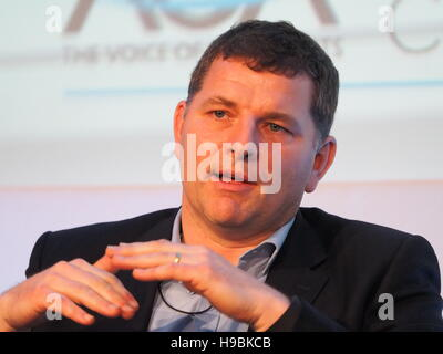 London, UK. 21st Nov, 2016. Airports Operators Association (AOA) conference in London. Credit:  Dorset Media Service/Alamy - Stock Photo