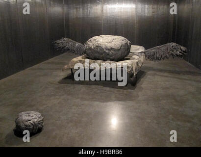 London, UK. 21st Nov, 2016. An installation by Anselm Kiefer on display in the White Cube Gallery as part of an - Stock Photo