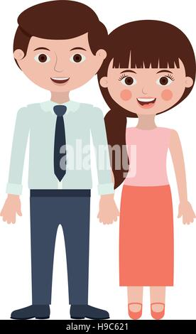 persons togheter with hands entwined - Stock Photo