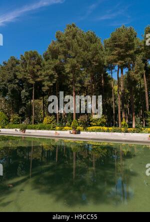 Chehel sotoun garden, Isfahan province, Isfahan, Iran - Stock Photo