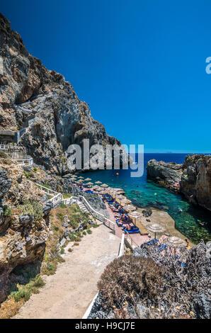calypso bay on crete island greece kalypso karavos beach is know stock photo 130628322 alamy. Black Bedroom Furniture Sets. Home Design Ideas
