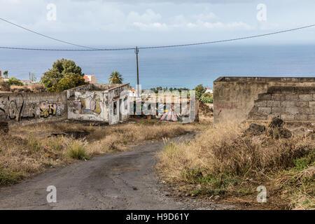 Abandoned place on Tenerife - Stock Photo