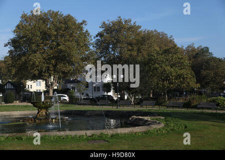 Prittlewell Square, Southend on Sea, Essex - Stock Photo