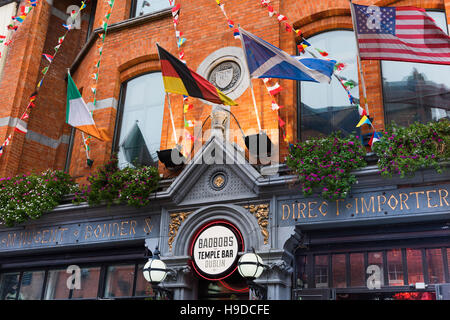Badbobs Temple Bar Dublin Ireland - Stock Photo