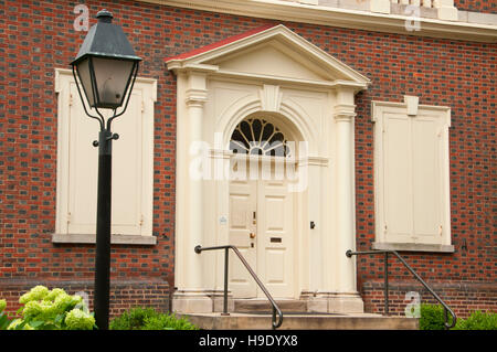 Carpenters' Hall, Independence National Historical Park, Philadelphia, Pennsylvania - Stock Photo