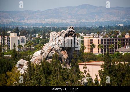 DISNEYLAND in Los Angeles, California, USA - Stock Photo