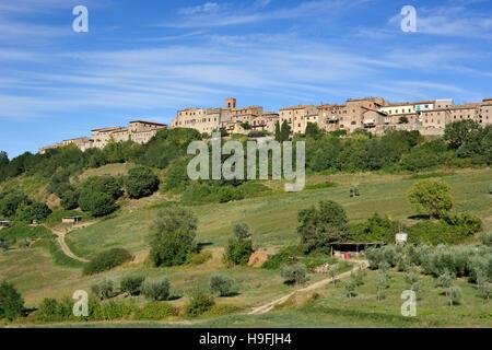 casole d'elsa, tuscany, italy - Stock Photo