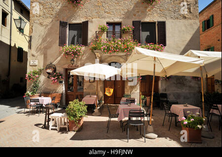 italy, tuscany, pienza - Stock Photo