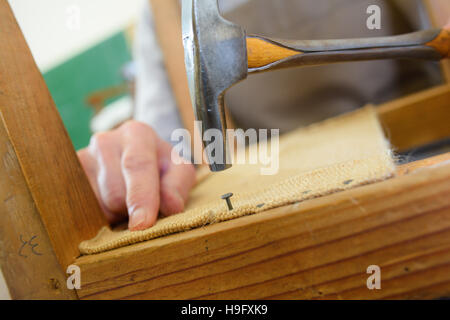 hammer nails in hardwood hammer nails level and saw on wood stock photo royalty free