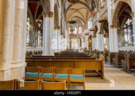 Saint Helena Cathedral located in Helena Montana. - Stock Photo