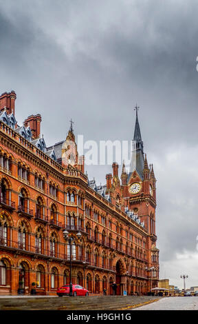 St Pancras International railway station. Original building, London, UK. - Stock Photo