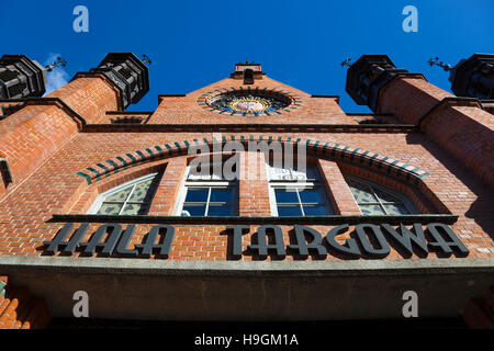 Hala Targowa (covered Market Hall) in Gdańsk, Poland - Stock Photo