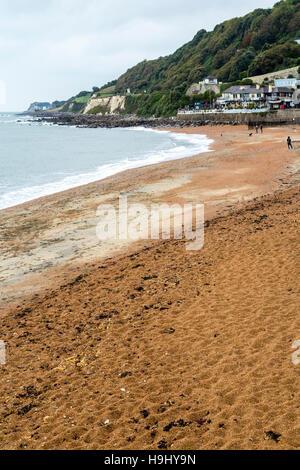 Beach, Ventnor, Isle of Wight, UK - Stock Photo