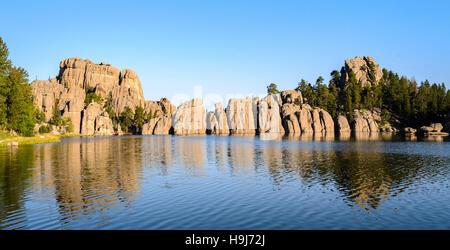 Sylvan Lake - Stock Photo