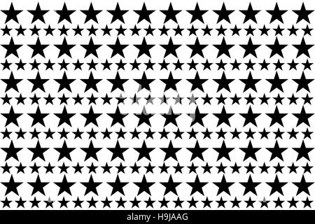 Digitally generated stars - Stock Photo