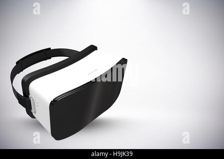 Composite image of white virtual reality headset - Stock Photo