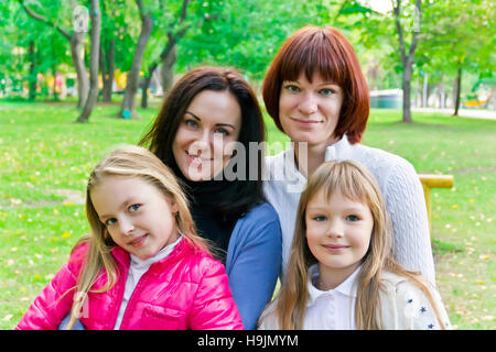 Photo of group beautiful people in summer - Stock Photo