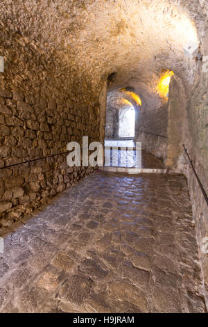 Spain, Balearic Islands, Ibiza, Eivissa, old town Dalt Vila, Portal Nou - Stock Photo