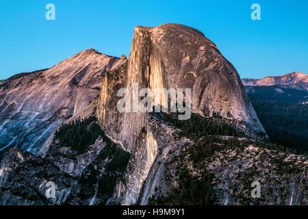 scenic shots taken in Yosemite National park in California - Stock Photo