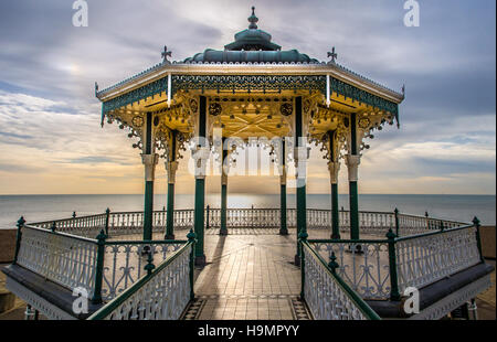 Brighton Bandstand - Stock Photo