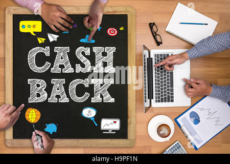 CASH BACK - Stock Photo