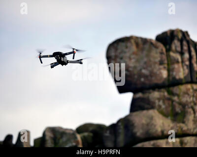 This years hottest drone the DJI Mavic Pro is in short supply before Christmas due to extremely high worldwide demand. - Stock Photo