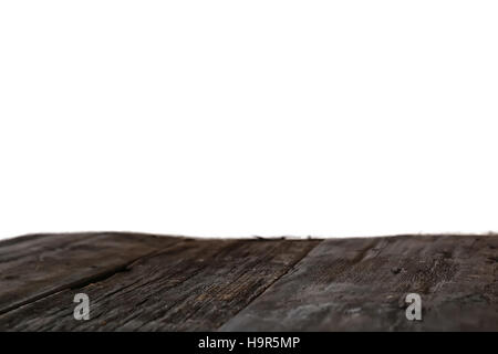 old wooden background isolated floor - Stock Photo