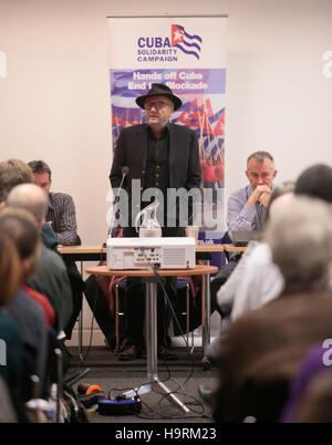 London UK 26 November 2016 George Galloway  British politician, former MP ,broadcaster, and writer. Between the - Stock Photo