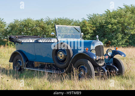 Vintage car, Citroen B10, Torpedo Commerciale, built in 1925, 4-cylinder inline engine, engine capacity 1470 cc, - Stock Photo