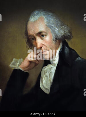 James Watt 1736-1819 Engineer.1792 Painter Carl Fredrik von Breda 1759-1818 English England - Stock Photo
