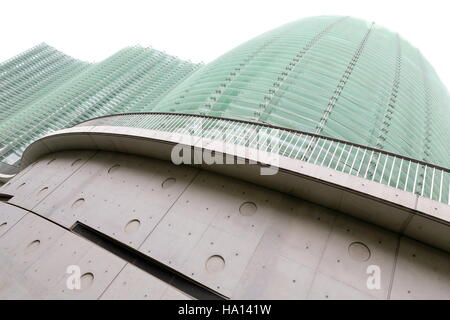Tokyo, Japan-October 24, 2013: The National Art Center was opened on January 21, 2007 and boasts the largest exhibition - Stock Photo