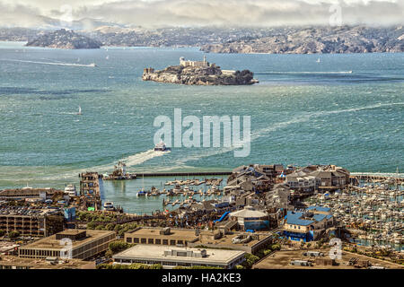 Port of San Francisco - Stock Photo