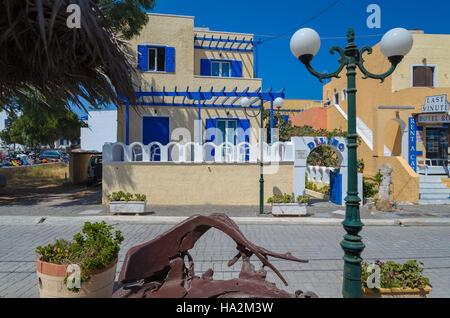 Traditional Greek House traditional greek house on mykonos island, greece stock photo