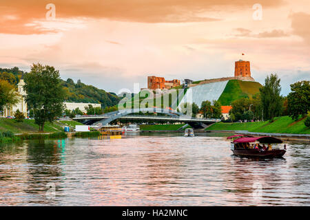 Vilnius landscape view - Stock Photo