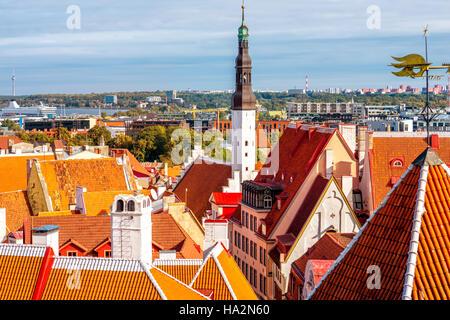 Tallinn old town - Stock Photo