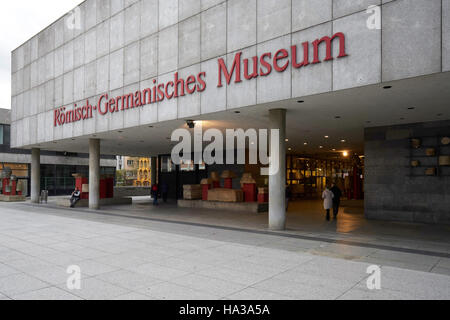 Roman-Germanic Museum, Cologne Germany. - Stock Photo