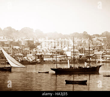 West Cowes, Isle of Wight - Victorian period - Stock Photo