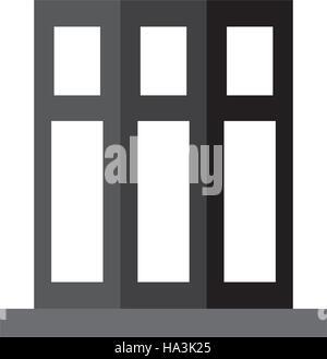 monochromatic set book folder office elements design - Stock Photo